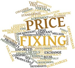 Word cloud for Price fixing