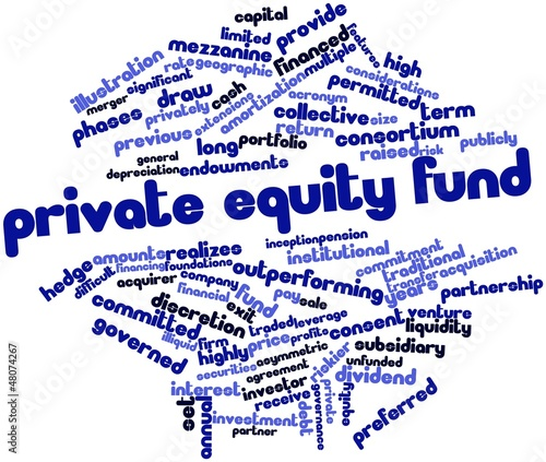 Word cloud for Private equity fund