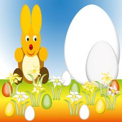 Ostern mit Osterhase
