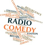 Word cloud for Radio comedy