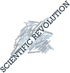 Word cloud for Scientific revolution