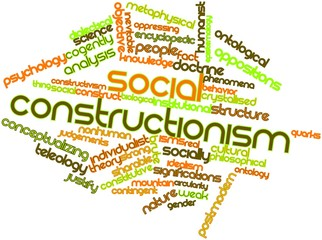 Word cloud for Social constructionism