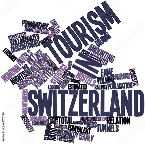 Word cloud for Tourism in Switzerland