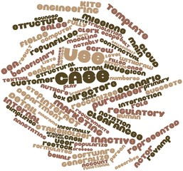 Word cloud for Use case