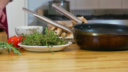 Preparing a roast