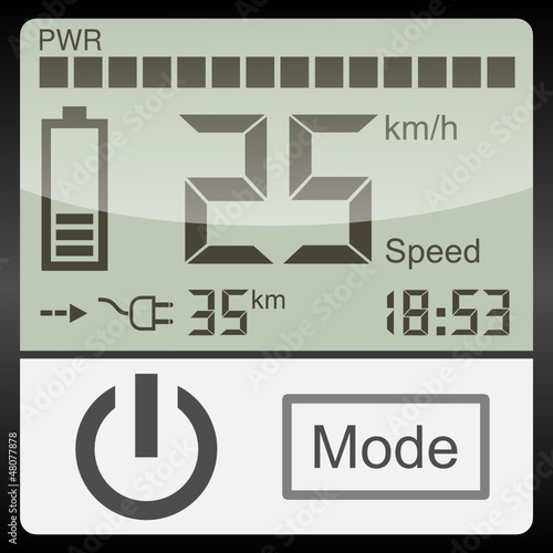 electric vehicle dashboard 1