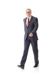Walking mature business man 5