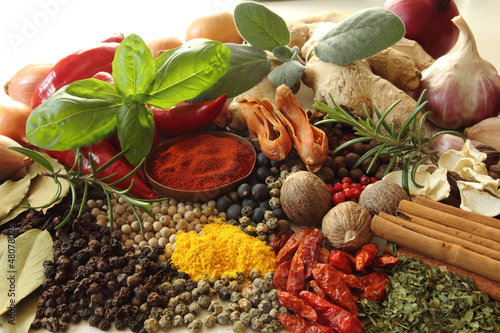 Herbs and spices - 48078025
