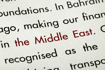 Word Middle East
