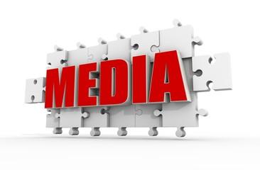 media puzzle
