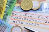 Geldscheine, Formular
