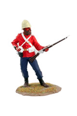 painted figure ,Zulu war soldier ,sergeant,miniature 24ft,