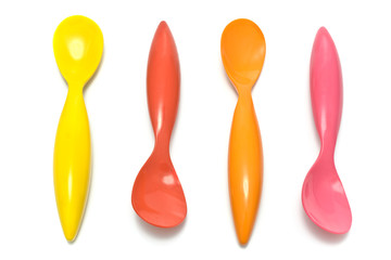 Colorful spoons