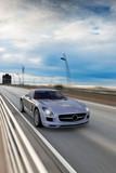 Fototapete Racing car - Sportwagen - Auto
