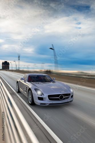 Fototapeta Roadster - wyścigi - Samochód