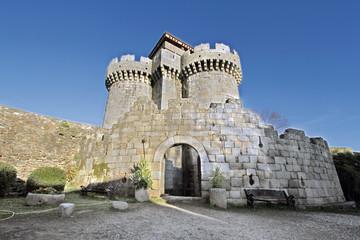 Castillo de los duques de Alba, Granadilla, Cáceres, España