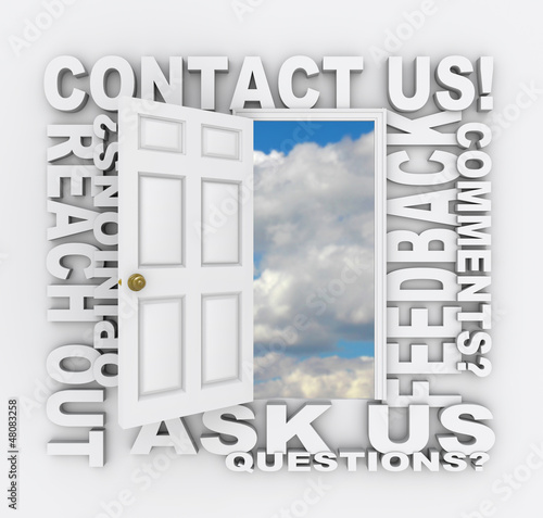 Contact Us Word Door Customer Support Service