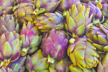 Artichoke vegetables