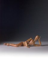 Wooden Mannequin in a Sexy Pose