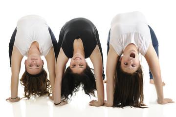 Upside-Down -- Content, Happy, Goofy