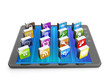 Creating mobile applications for mobile technology. Tablet compu