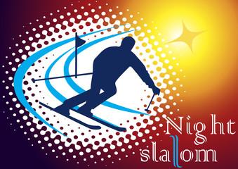 Night slalom