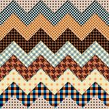 quilt zigzag poster