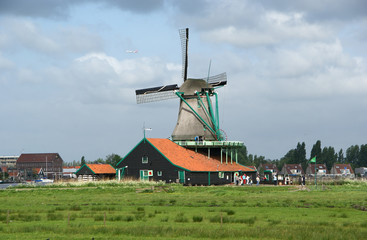 Folklore village Zaanse Shans, Holland (Netherlands)