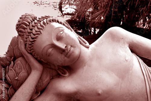 Fototapeten,buddhas,statuen,skulptur,indien