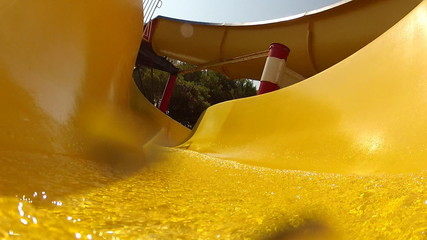 Water and slide