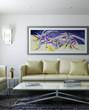 Modern Room with Artwork II