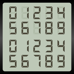 LCD numbers