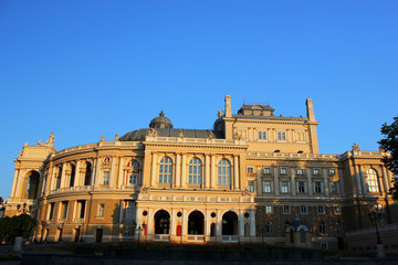 The opera house in Odessa
