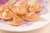 Delicious homemade puff pastry cookies