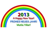 Ein Frohes neues Jahr 2013! A Happy New Year 2013!