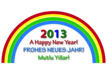 Ein Frohes neues Jahr 2013! A Happy New Year 2013!