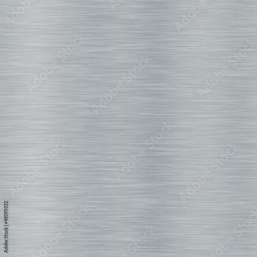 Foto op Aluminium Metal Seamless brushed metal texture