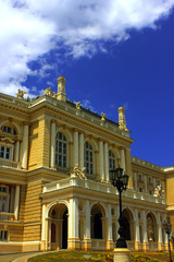 The opera theater in Odessa