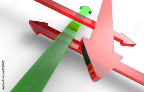 Finde den richtigen Weg - Rot Grün 5