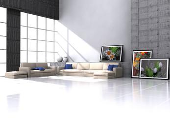 Modern Loft - Architecture Interior