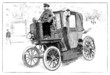 Carridge - Fiacre - Motordroschke - end 19th century