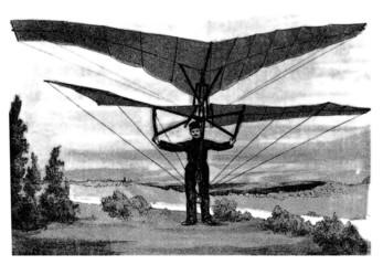 Invention : Aeroplane - end 19th century