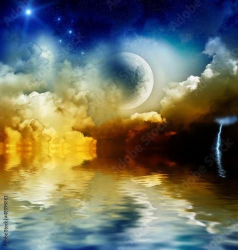 Fototapeten,astronomy,hintergrund,belle,wolken