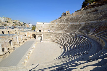 Roman theater in Amman,Jordan