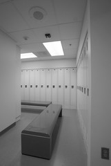 clean locker room
