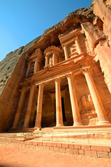 Al Khazneh at Petra in Jordan