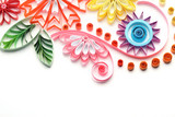 Fototapety Paper quilling