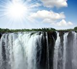 Fototapeta Afryki - kanion - Kaskada / Wodospad / Gejzer