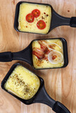 Raclette trays poster