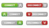connect disconnect button sets poster